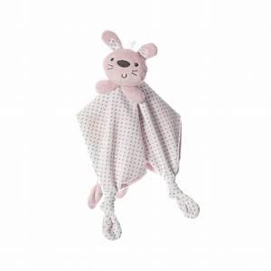Doudou Lapin Rose : doudou tout doux lapin rose de playgro en vente chez cdm ~ Teatrodelosmanantiales.com Idées de Décoration