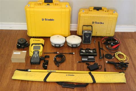 Trimble Dual R8 Model 3 Gps Gnss Glonass Base Rover Rtk
