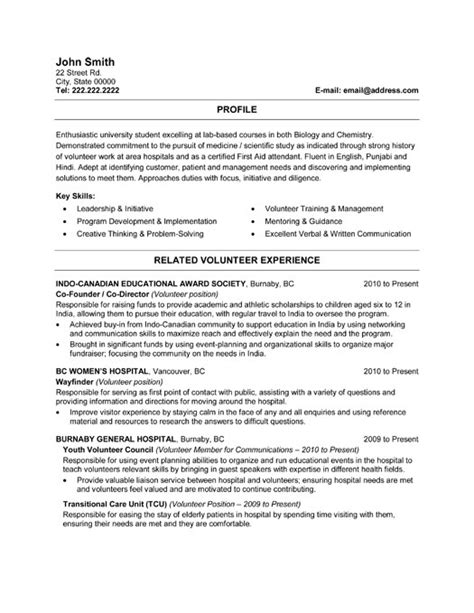 resume medical student resume format resume format for ca students