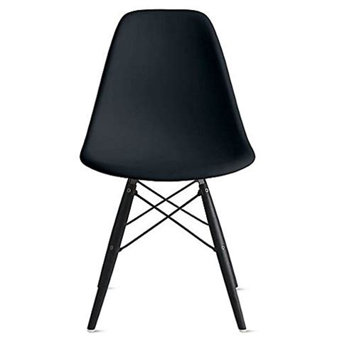 black chairs for bedroom 2xhome eames style dsw molded