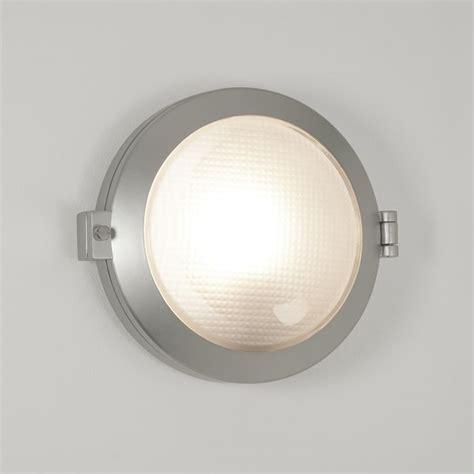astro 7192 toronto round matt silver exterior wall light