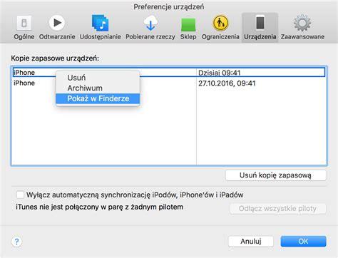 backup iphone to external drive znajdowanie backup 243 w telefonu iphone ipada i ipoda touch 1099