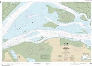 Noaa Chart 18658 Nautical Chart Of Suisun Bay Roe