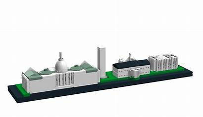 Lego Washington Architecture