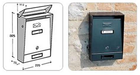 cassetta lettere incasso ferramentaonline shop cassetta posta verniciata nera
