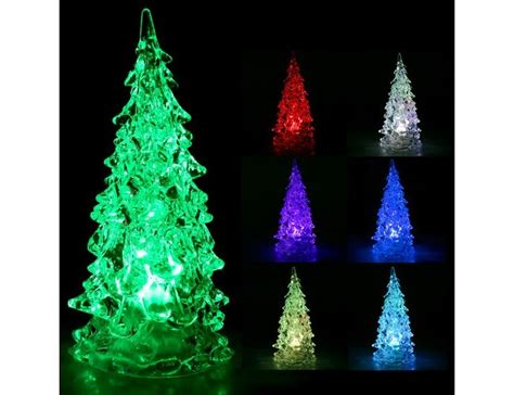 classic icy color changing led light tree