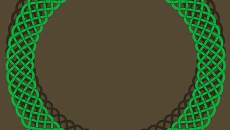 turn  straight border pattern   curved border