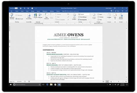 How To Do A Cv Exle by Microsoft Adds Ai Powered Linkedin Resume Assistant To Word
