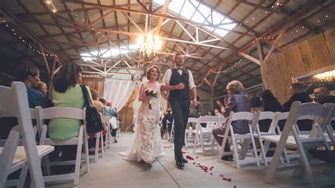 bluegrass wedding barn bluegrass wedding barn ceremony reel special