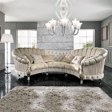 italian sectional sofas online italian designer six seater curved sofa juliettes interiors