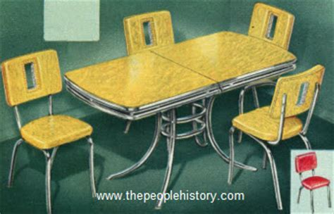 Furniture for your home in the 1950's prices and examples