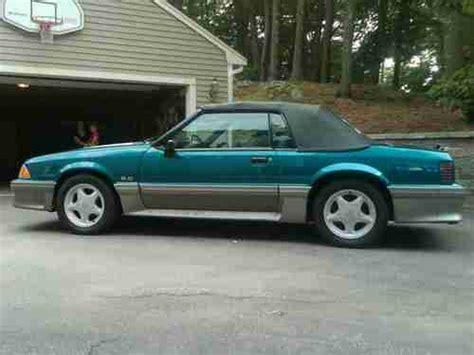 where to buy car manuals 1993 ford mustang instrument cluster buy used 1993 mustang gt convertible 5 0 manual transmission mint condition no rust in