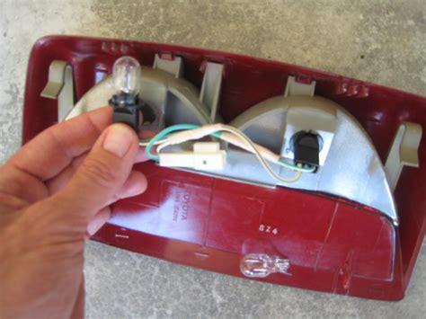third brake light ls400 3rd light bulb fix clublexus