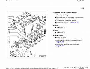 Audi A3 1996 8l    1 G Aeb Atw Engines Valvetrain Servicing