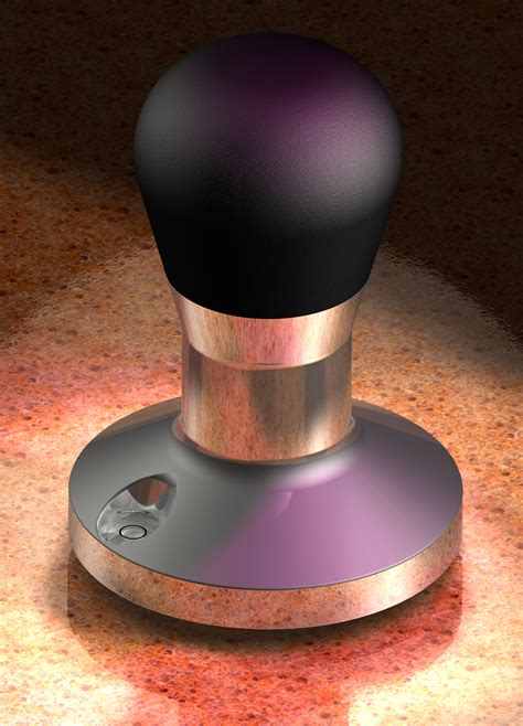 File:Cobalt ray tracing, high end coffee tamper   Wikipedia