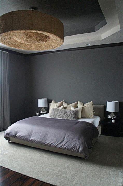 chambre gris et violet décoration de chambre 55 idées de couleur murale et