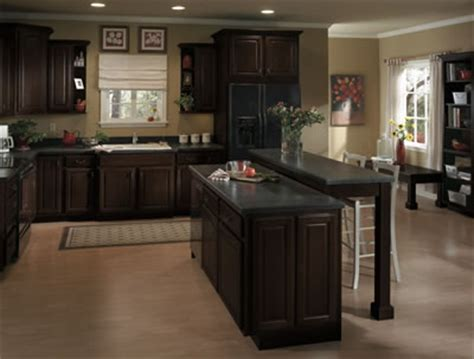 kitchen cabinets espresso finish jdssupply cimarron by armstrong cabinets 6042