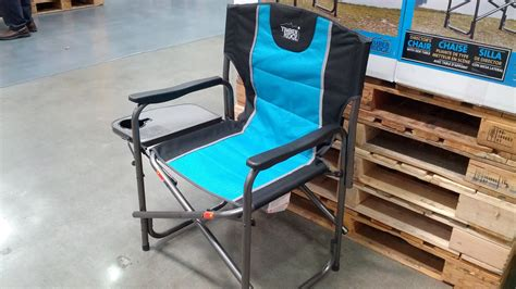 Timber Ridge Folding C Chair by Timber Ridge Director S Chair With Side Table Costco