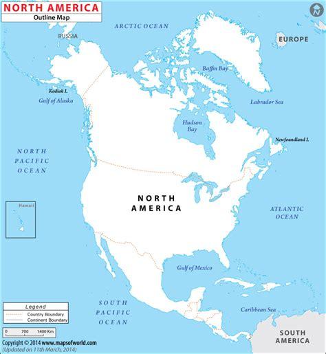 north america map digital magazine