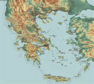 Country maps Greece