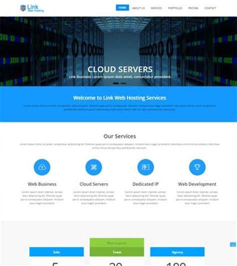 web hosting  bootstrap template  webthemez