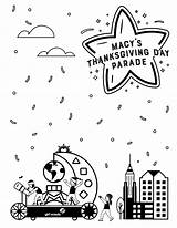 Coloring Parade Macy Float Thanksgiving Pages Celebrate Better Scouts Give Try Diy Sheets Scout Girlscouts sketch template