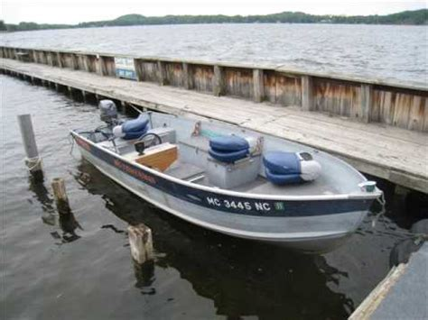Boat Crash Hamlin by 14 Ft Smoker Craft Aluminum Boat Doovi