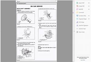 Official Workshop Service Repair Manual Suzuki Swift