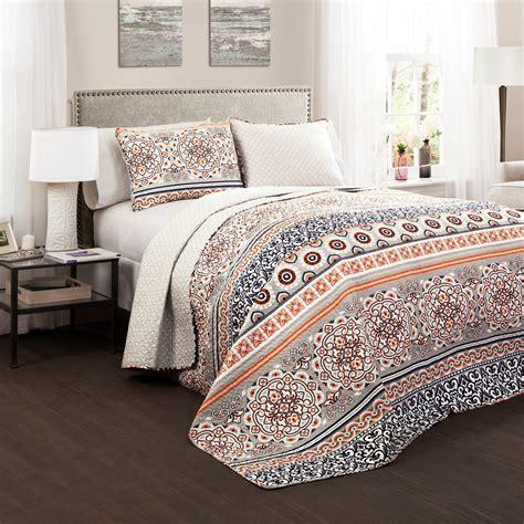 Lush Bedding Sets by Lush Decor Nesco 3 Quilt Set Bedding And Bedding