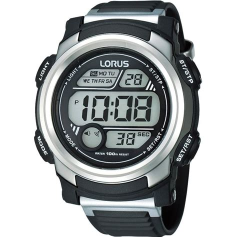 Lorus R2313gx9 Men's Black & Silver Digital Sports Watch. Extra Long Post Stud Earrings. Coral Pendant. Peace Sign Necklace. Native American Pendant. French Cut Engagement Rings. Oval Lockets. Scalloped Wedding Rings. Clover Pendant