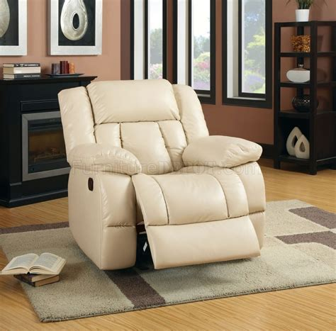 Leather Sofas With Recliners by Barbado Reclining Sofa Cm6827 In Ivory Leather Match W Options