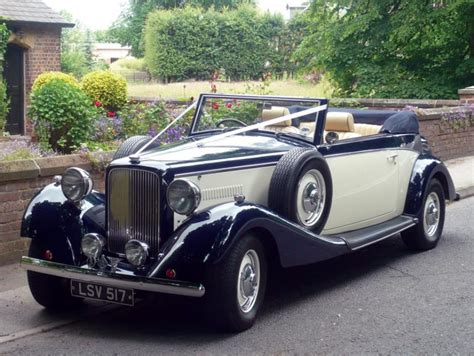 Classic Wedding Car Hire In St