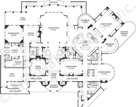 balmoral castle floor plan  home plans blueprints