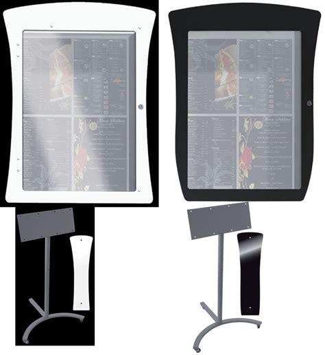 porte menu restaurant exterieur porte menu restaurant porte menus lumineux sur pied et muraux porte menu exterieur support