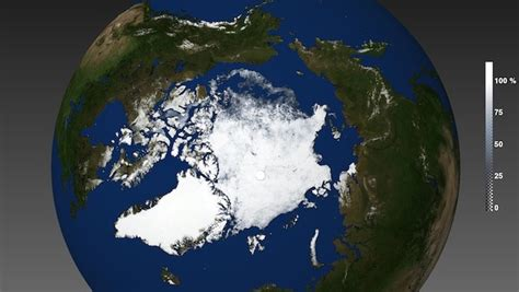 Arctic Sea Ice Season Melt 2015 - A Satellite View on Sea ...