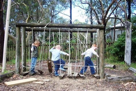 how to set up play spaces in your back yard