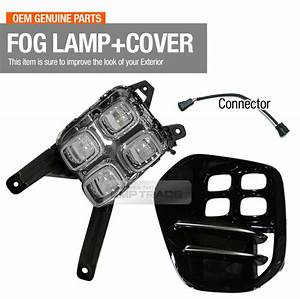 Oem Bumper Led Fog Light Lamp Assy Cover Wiring Left For Kia 2017