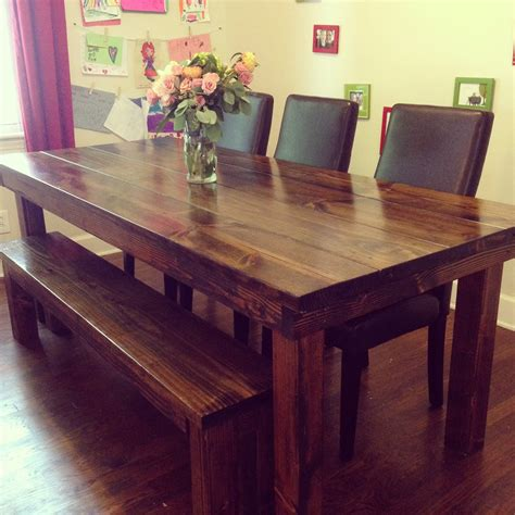 farmhouse corner kitchen table pin by olmstead on for the home farmhouse table