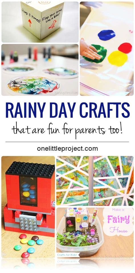 kid friendly rainy day crafts   fun  parents