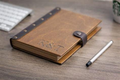 wooden notebook leather sketchbook notebook travel