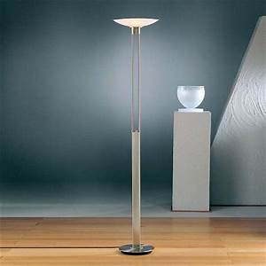 Torchiere floor lamp glass shades for Designer glass floor lamp