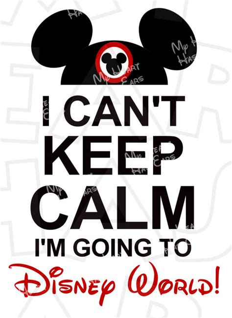 Where Can I Go To Create A Free Resume by I Can T Keep Calm I M Going To Disney World Mickey Mouse