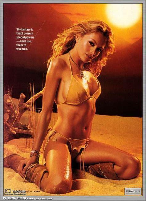 Paulina Rubio Nude Page Pictures Naked Oops Topless Bikini Video Nipple