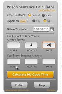 Federal Prison Sentence Calculator - Jail Guide
