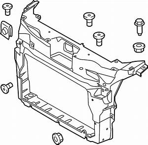 2016 Ford Explorer Radiator Support Panel  Front  Upper