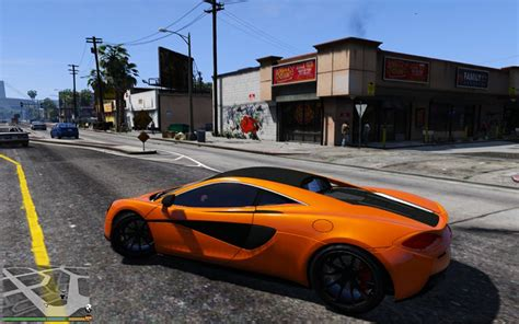 Mclaren 570s Modification by Gta 5 2015 Mclaren 570s Hq Mod Gtainside
