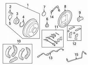 Ford Focus Kit  Brake  Lever  Repair  Adjuster  Adjust