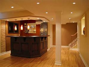 basement finishing 4 weeks With basement bar design ideas pictures