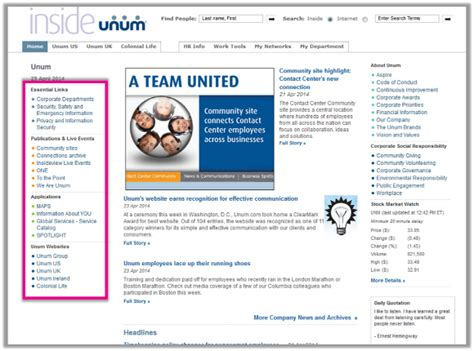 Six ways to present quick links on your intranet homepage ...