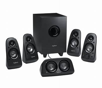 Surround Sound Z506 System Speaker Logitech Speakers